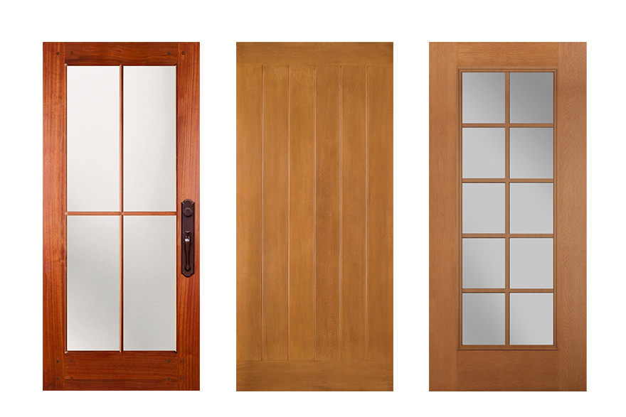 Asian Inspired look Exterior Doors