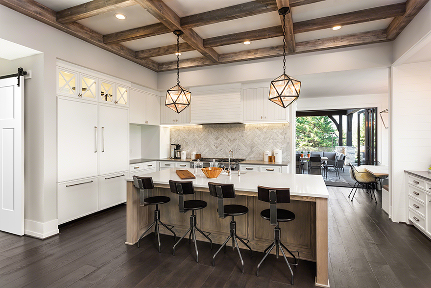 Shiplap Kitchen Beauty Image