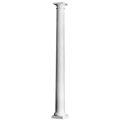 Plain Round Tapered Column