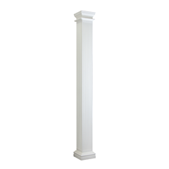 Fluted Square Column