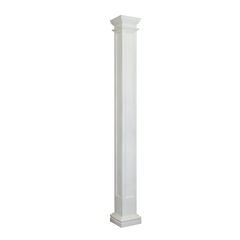 Square Recessed Panel Column